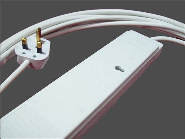 6m Individually Switched 4way Socket Extension Lead